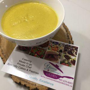 cauliflower tumeric soup
